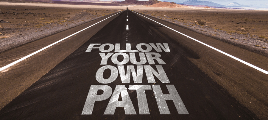 modeling success vs following your own path