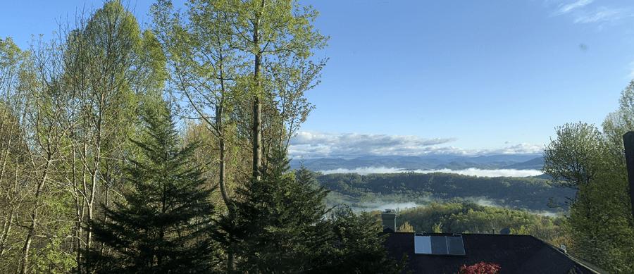 western north carolina view