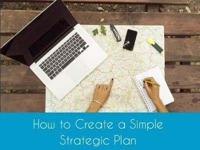 Online Course How to Create a Simple Strategic Plan