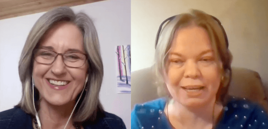 online course instructors debbie lachusa and tetyana azarova