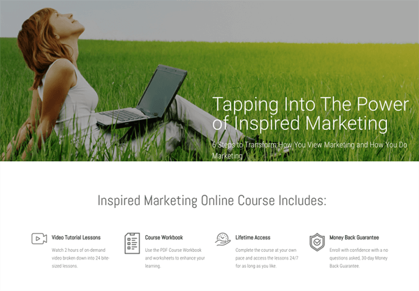 inspired marketing online course